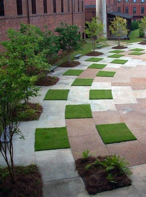 pavement landscape design grass pavers l architect 0o pinterest
