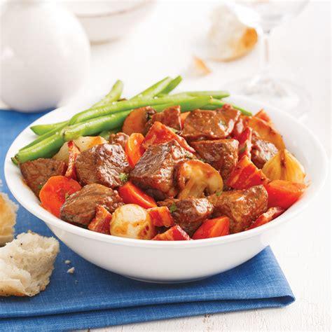 cuisine à la mijoteuse bœuf bourguignon à la mijoteuse recettes cuisine et