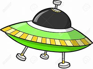 Space clipart flying saucer - Pencil and in color space ...