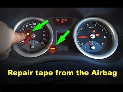 clio renault 2005 how to fix tape airbag renault megane ii youtube