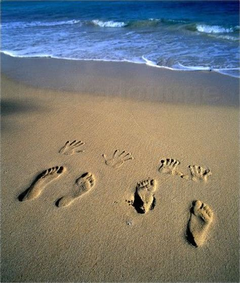douglas peebles fussstapfen im sand fotos strand