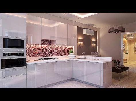 Latest Modular Kitchen Designs 2018 Youtube