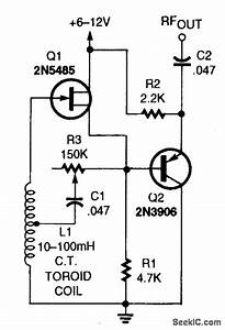 Vlf Lc Oscillator - Oscillator Circuit - Signal Processing - Circuit Diagram