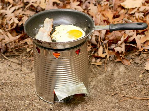 How To Make A Hobo Stove Out Of A Can