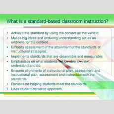 Standards Based Assessment Based On K12 Curriculum