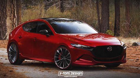 2019 Mazda Mazdaspeed3 Render Is The Hot Hatch We're Not ...