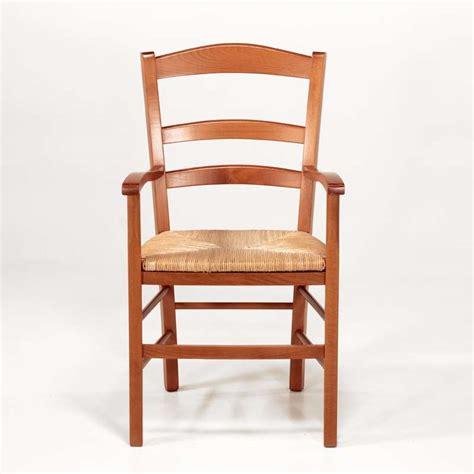 chaise en bois rustique fauteuil en bois rustique et paille brocéliande 4 pieds tables chaises et tabourets