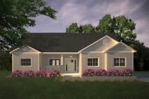 Simple Country Style House Placement by Ranch Style House Plan 3 Beds 2 Baths 1403 Sq Ft Plan