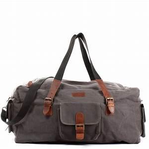 Leder Reisetasche Damen : leconi reisetasche canvas grau le2019 ~ Watch28wear.com Haus und Dekorationen