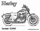 Harley Coloring Pages Davidson Sportster Motorcycle Motorcycles Drawings Adult Eagle Sheet Printable Motor Sheets Bikes Rod Colouring Template Bike Yescoloring sketch template