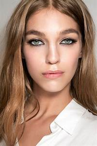 Maquillage Mariage Yeux Vert : maquillage yeux verts blonde comment maquiller des yeux ~ Nature-et-papiers.com Idées de Décoration