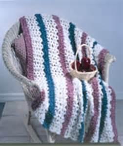 3 Color Crochet Afghan Patterns