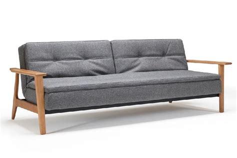 canap lit bois canape en bois et tissu maison design wiblia com