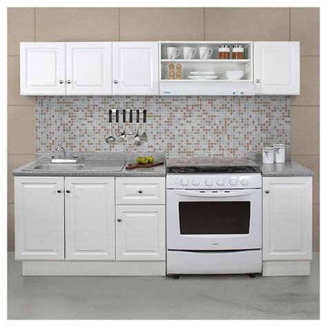 paquete de cocina  piezas color blanco medida