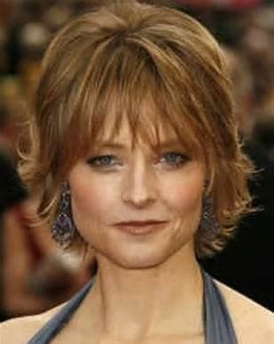 short hairstyles  older women  square faces