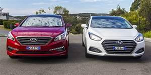 Hyundai I40 Pack Premium : hyundai i40 premium v hyundai sonata premium comparison review photos 1 of 17 ~ Medecine-chirurgie-esthetiques.com Avis de Voitures