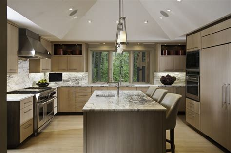 for kitchen design contrasting sleek contemporary kitchen chicago by 4952