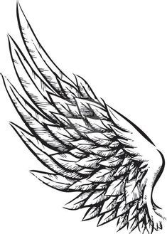 red heart   angel coracao wing tattoo designs