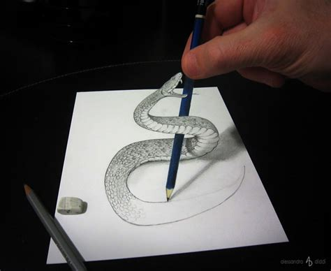 clever  illusion drawings  alessandro diddi