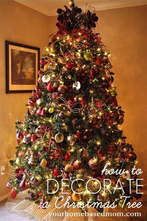 decorate  christmas tree tutorial