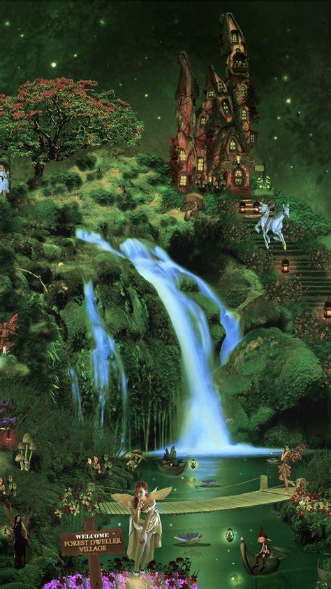 wallpaper fairies forest hd creative graphics
