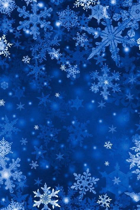 Blue Snowflake Background by Blue Snowflakes Snowflake Wallpaper