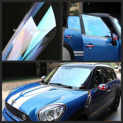 High Reflective Window Tint 150*100cm/size Blue Color Car