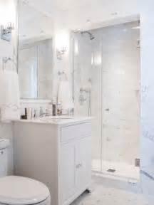 Carrara Marble Tiles Uk by Small White Bathroom Houzz