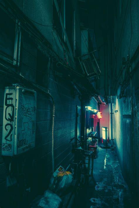 japan street night wallpapers hd desktop  mobile