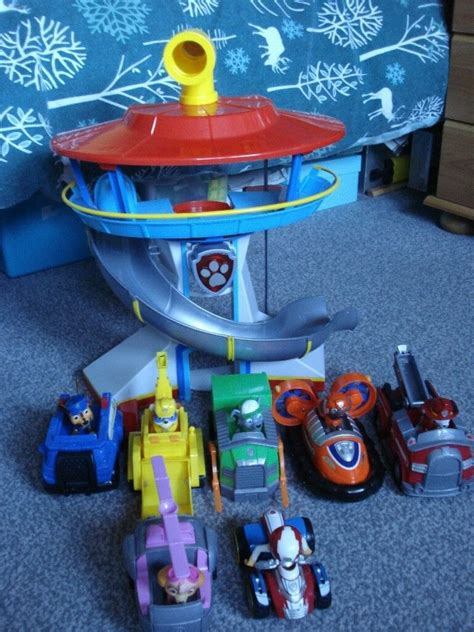 picture  paw patrol lookout tower impremedianet