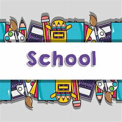 Background Tools Education Middle Vector Clip Backgrounds