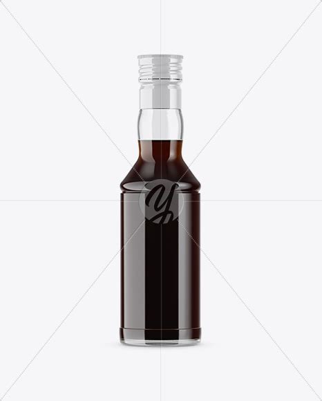 Every bottle is customisable, with two options of labels you can select between shrink wrap or clear sticker labels. Clear Glass Chocolate Syrup Bottle Mockup in Bottle ...