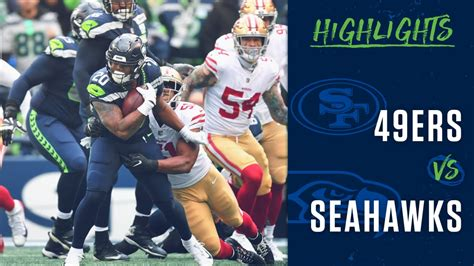 week  seahawks  ers highlights