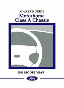 2001 Ford Class A Motorhome Chassis Owners Manual User