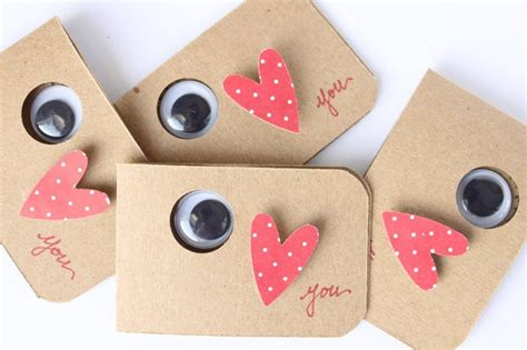 Do you have physical prints of the recipient and yourself that you want to include? Miss Lovie: Handmade Valentines for Kids-Eye Love You!