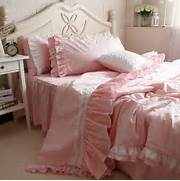 Pink Bedroom Set by Shabby Girls Pink Bedding In Vintage Light Pink Bedding Set Queen Duv