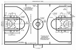 Junior High School Basketball Court Dimensions