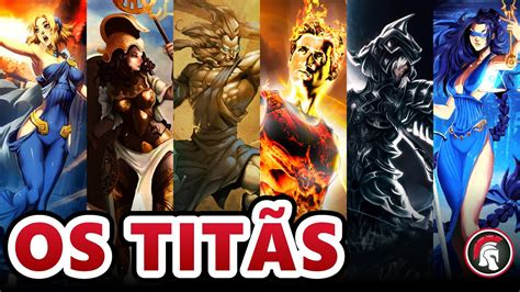 Mitologia Grega - Os Titãs