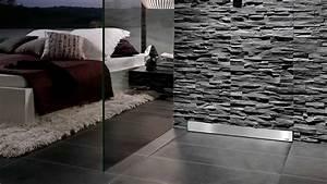 wedi IT Training Montaggio della doccia a filo pavimento Riolito con scarico a parete Discreto