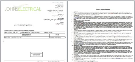 Booking Terms And Conditions Template Gallery