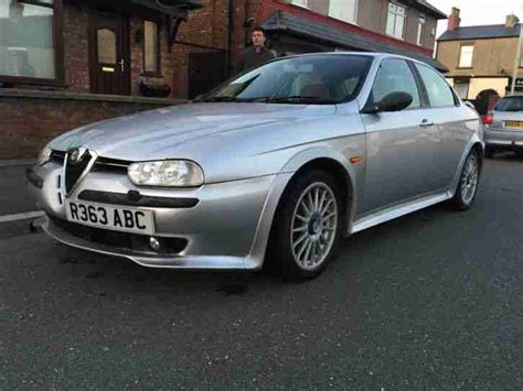 Alfa Romeo 1998 156 2.5 V6 Silver. Car For Sale