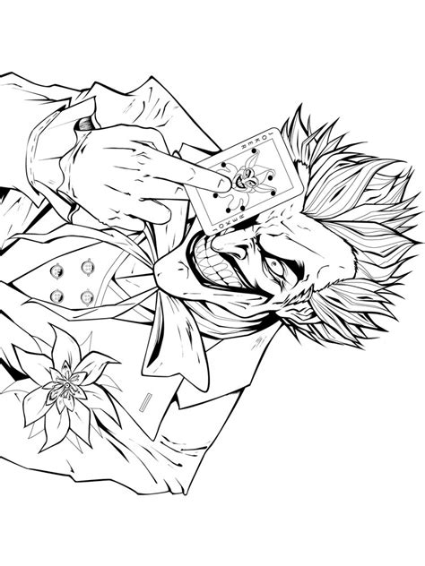 Coloring Joker by Free Printable Joker Coloring Pages For Boys