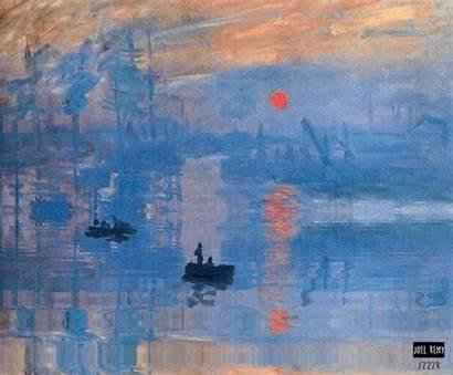 Monet Paintings Famous Claude Sunrise Remy Impressionist