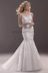lace wedding dresses cheap cheap sheer straps mermaid lace sheath wedding dresses nw 0183
