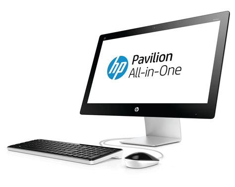 ordinateur de bureau all in one hp pavilion all in one 23 q208nf ordinateur de bureau