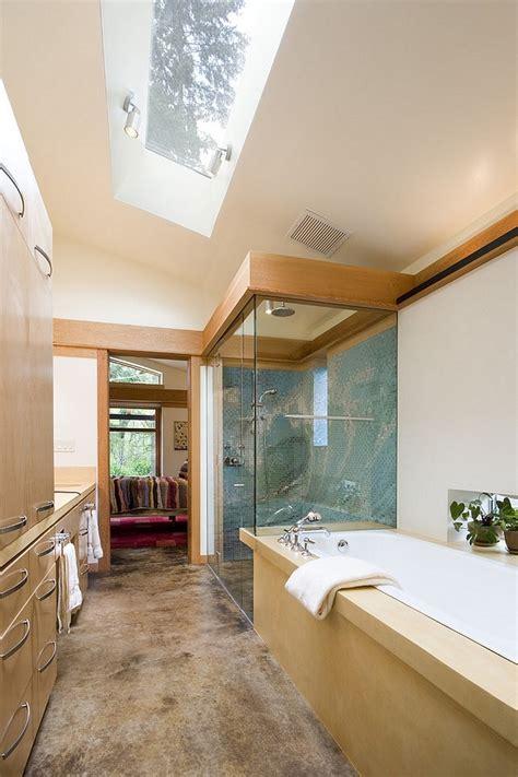 gorgeous bathrooms  unleash  radiance  skylights inspiration  ideas  maison