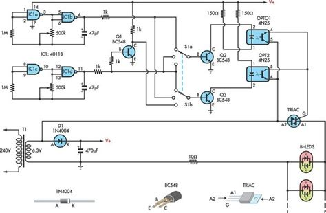 Using For Led Christmas Lights Circuit Diagram