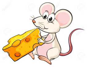 Pencil And In Color Rat Clipart