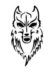 Wolf Tattoo Stencils for Men