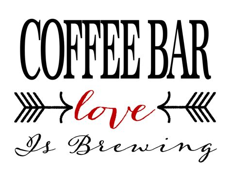 There are 15058 coffee bar sign for sale on etsy, and they cost 29,60 $ on average. Coffee Bar sign Love is Brewing - Printable INSTANT ...
